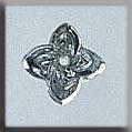 12140 - Star Flower Crystal Bright 9mm - 1 per pkg